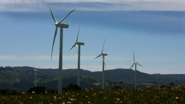 Toora Wind Farm in South Gippsland, Victoria