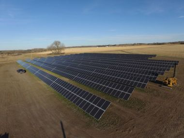 Solar array in Nebraska (Courtesy photo)