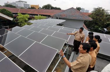 Solar power rising