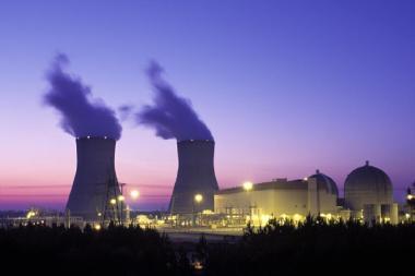 Vogtle Nuclear Power Plant (NRC photo  Public domain, via Wikimedia Commons)