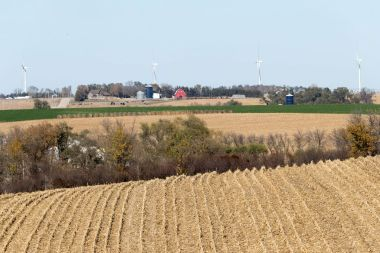 GE wind turbines in Nebraska (Matt Dixon / The World-Herald)