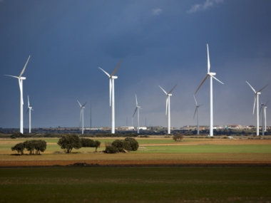 Spanish wind turbines