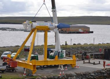 M100 tidal turbine (Nova Innovation image)