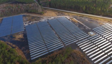 AES solar farm