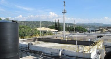 Generators powered by biogas from wastewater at  Del Monte Philippines turn a problem into to a profit.