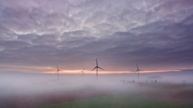 German wind turbines (Julian Stratenschulte / AP)