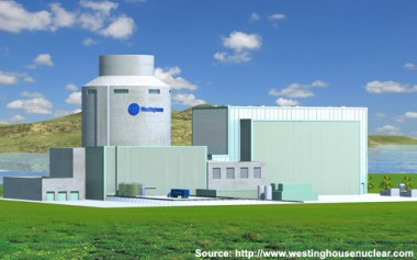 Westinghouse AP1000 generation 3+ nuclear plant