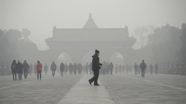 Temple of Heaven park (Wang Zhao/AFP/Getty Images)