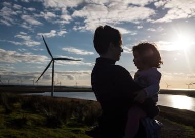 Wind power in Scotland (Photo: John Devlin)