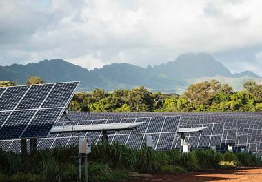 Massive solar plus energy storage project in Hawaii