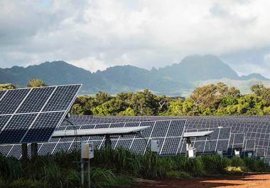 Massive solar plus energy storage project in Hawaii