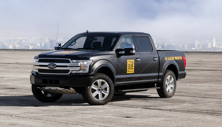 Ford F-150 electric truck (Ford image)
