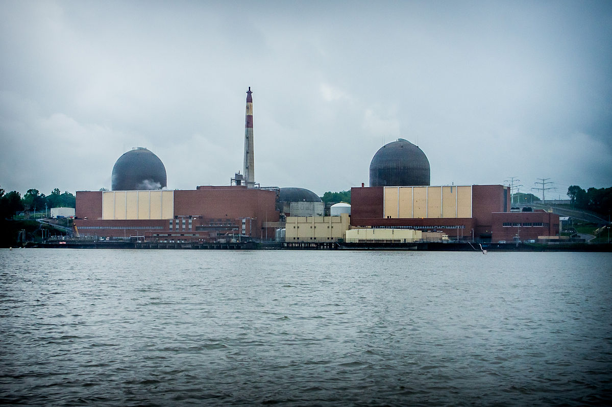 Indian Point nuclear plant (Peretz Partensky, CC-BY-SA 2.0)