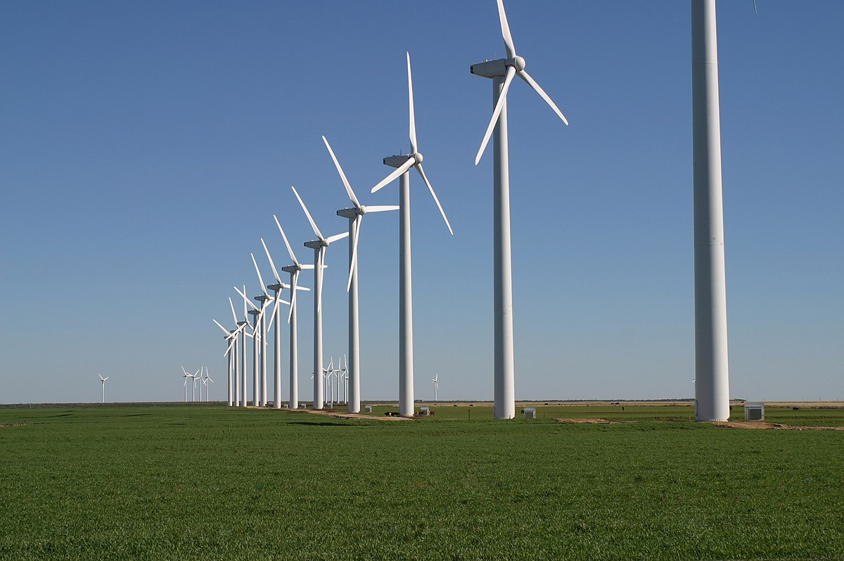 Wind turbines in Texas (Leaflet, CC-BY-SA 3.0)